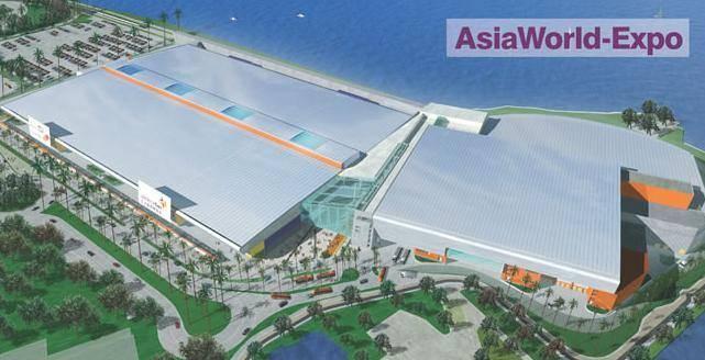 Китай Гонконг: Выставочный комплекс AsiaWorld-Expo