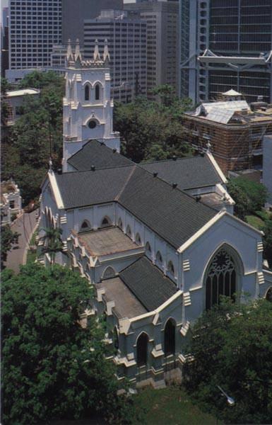 Китай Гонконг: Собор St.John`s Cathedral