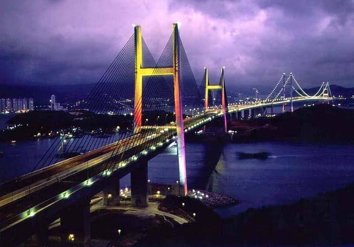 Китай Гонконг: Мост Тсинь Ма