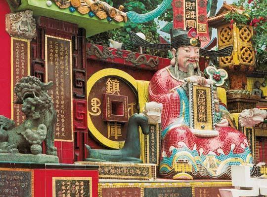 Китай Гонконг: Монастырь Десяти тысяч Будд