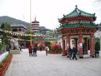 Китай Гонконг: Монастырь The Yuen Yuen Institute