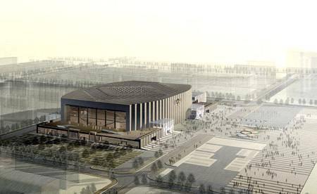Китай Пекин: Спортивный Зал университета науки и технологий