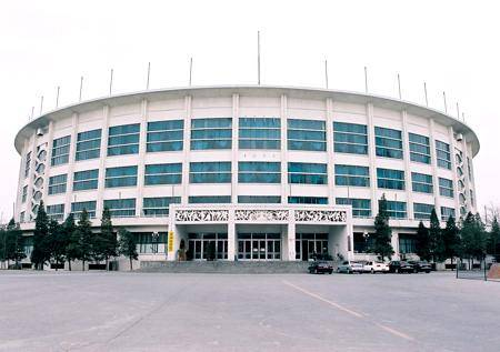 Китай Пекин: Крытая арена Стадиона Рабочих