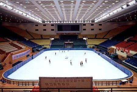 Китай Пекин: Столичный крытый стадион