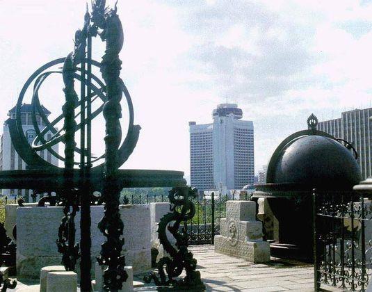 Китай Пекин: Древняя обсерватория