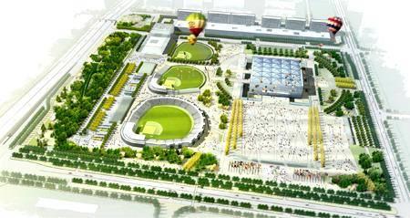 Китай Пекин: Поле для бейсбола Вуксонг