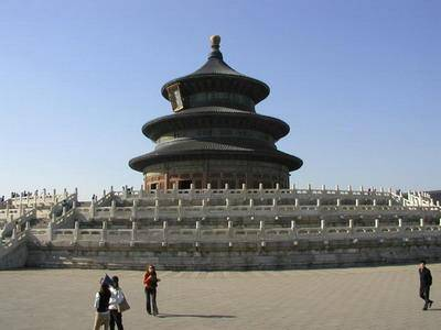 Китай Пекин: Храм Неба