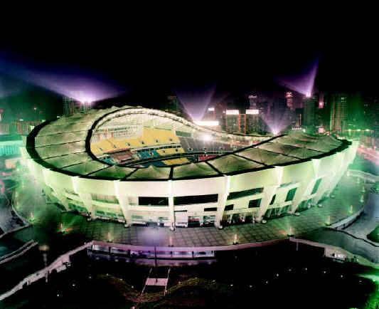 Китай Шанхай: Стадион Шанхая