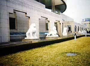 Китай Шанхай: Музей глазурованных изделий