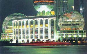 Китай Шанхай: Конференц-центр SHICC - Shanghai International Convention Center