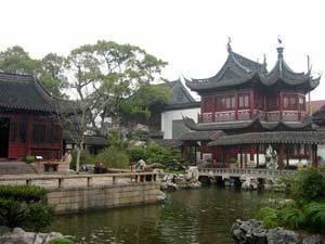Китай Шанхай: Сад и базар Юй Юань