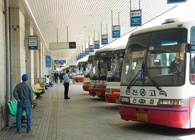 Китай Шанхай: Главный  автовокзал