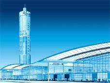 Китай Шанхай: Шанхайский новый международный выставочный центр Shanghai New International Expo Center