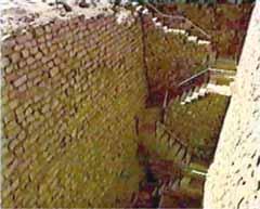 Бункера в комплексе Джосера.