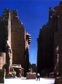 Храм Амона. XV-XIII вв. до н.э. Карнак