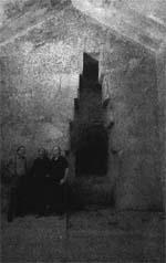 Погребальная камера Царицы ( иллюстрация из книги Хэнкоко и Бьювела )