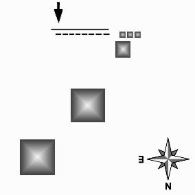 Схема расположения Пирамид