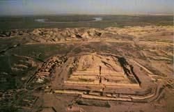 Зиккурат в Иране. Ок. 1250 г. до н.э.