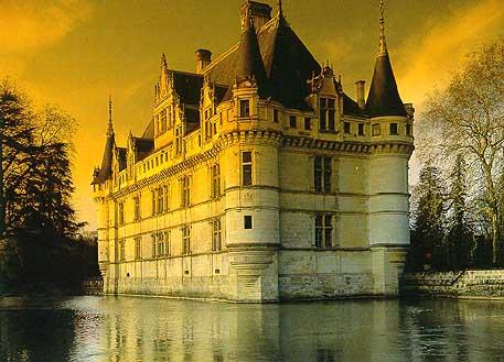Азей-ле-Ридо Замки Туризм Тур по франции Сайт о Франции Отдых во Франции Достопримечательности