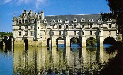 Шенонсо Замки Туризм Тур по франции Сайт о Франции Отдых во Франции Достопримечательности