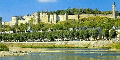 Шинон Замки Туризм Тур по франции Сайт о Франции Отдых во Франции Достопримечательности