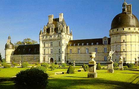 Валансэ Замки Туризм Тур по франции Сайт о Франции Отдых во Франции Достопримечательности