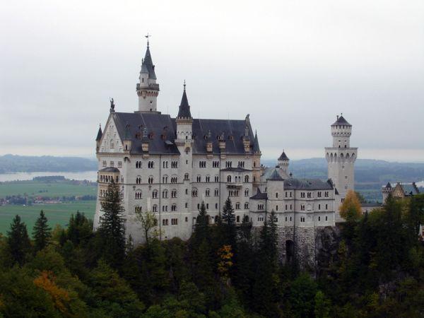 замок Нойшванштейн