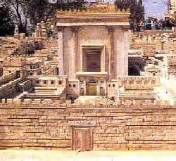 Иерусалим. Макет Второго Храма. Вход в Святое.