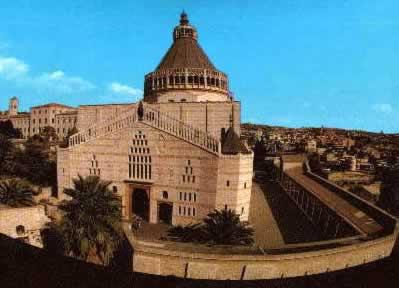 Назарет (Ноцерет). Церковь Благовещения