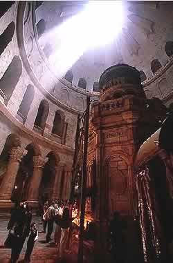 Иерусалим, Церковь Гроба Господня. Фото Л. Келлера