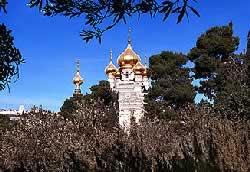 Иерусалим, церковь Марии Магдалины. Фото Л. Келлера