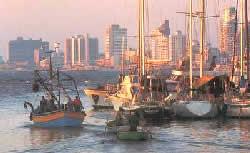 Израиль. Вид на Тель-Авив со стороны Яффо