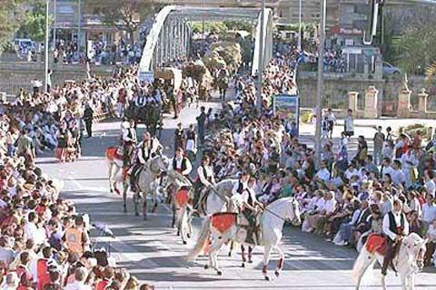 Испания Бандо де ла Уэрта - праздник земледелия и животноводства