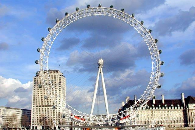 Колесо обозрения London Eye