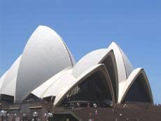 Сидней. Здание Оперы