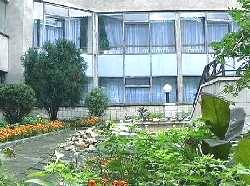 Cанаторий Машук, внутренний дворик