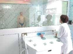 Санаторий Шахтер, лечебный душ