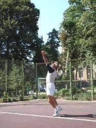 Санаторий Шахтер, Теннисный корт