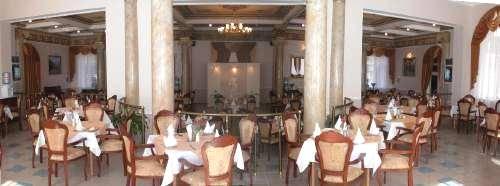 Санаторий Шахтер, Ресторан - панорама