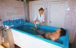 Санаторий Зори Ставрополья, Подводный душ - массаж