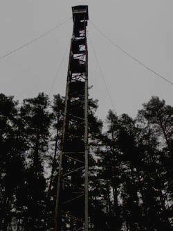 МОРДОВСКИЙ ЗАПОВЕДНИК - башня для наблюдения за птицами и пожарами
