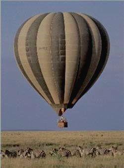 Уникальное сафари в Серенгети - воздушный шар
