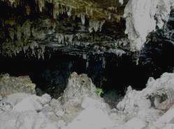 Вот такие пещеры можно увидеть в этих местах