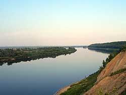 Река Ока (приток Волги)