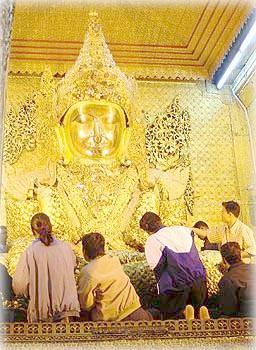 Махамуни, Мандалай