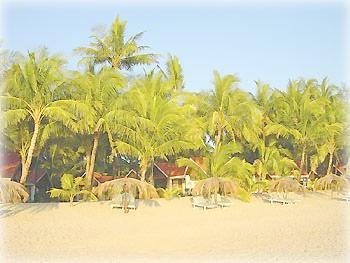 Пляж и отель в Нгапали