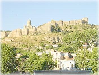 Панорама старого Тбилиси