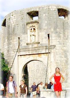 Ворота Од Пиле, Дубровник