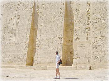 Храм Мединет-Абу на левом берегу Нила