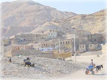 Зеленая зона возле Луксора